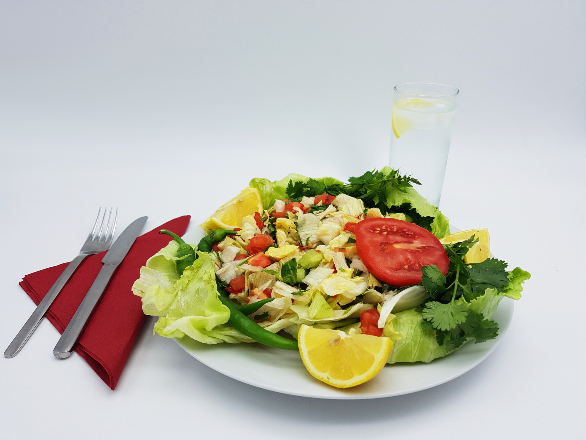 Genießen Sie unseren leckeren Salat im Restaurant Kabul in Wuppertal.